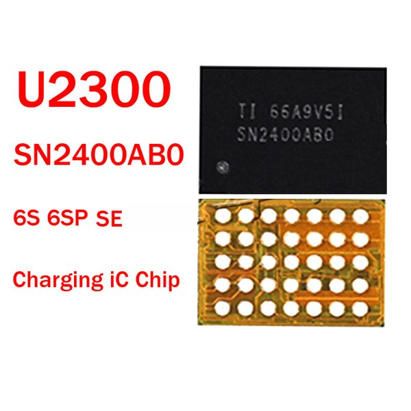 5pcs/lot SN2400AB0 Original New U2300 For iPhone 5SE 6S 6SP 6Splus Charging IC SN2400ABO Charger Ic Chip 35 Pin USB Control IC Parts