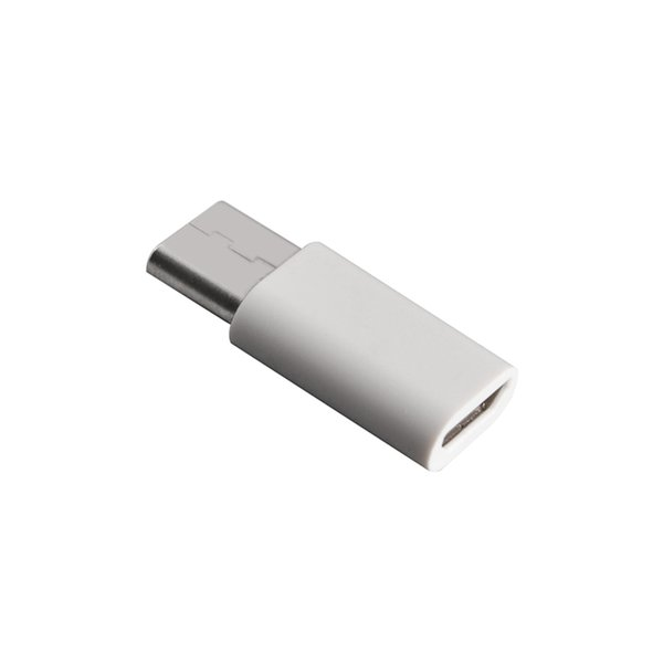 New USB 3.1 Type C Male to Micro USB Female Adapter Type-C Converter Connector USB-C black and white