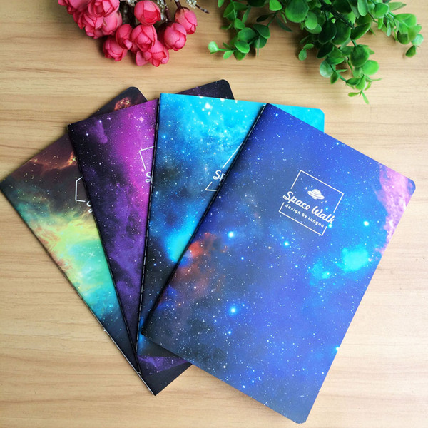 12pcs/lot New Vintage Romatic Starry sky series Kraft paper notebook/journal Diary/Notepad/Memo pads GT004