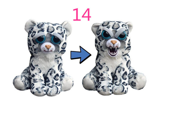 In Stock Feisty Pets Plush 22cm One Second Change Face Animal Plush Toys Cute Expression Kids Stuffed Doll 13 Styles
