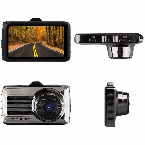 Original car DVR black box 2Ch vehicle video camera auto accident recorder 3 inch front 170° view angle WDR G-sensor parking monitor