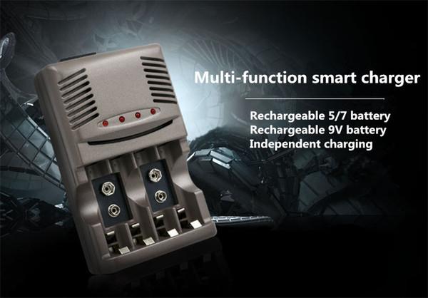 819W LED Light Smart Charger For NI-MH NI-CD AA AAA Rechargeable Batteries For NI-CD LI-ION 9V 6F22 Battery US / EU Plug