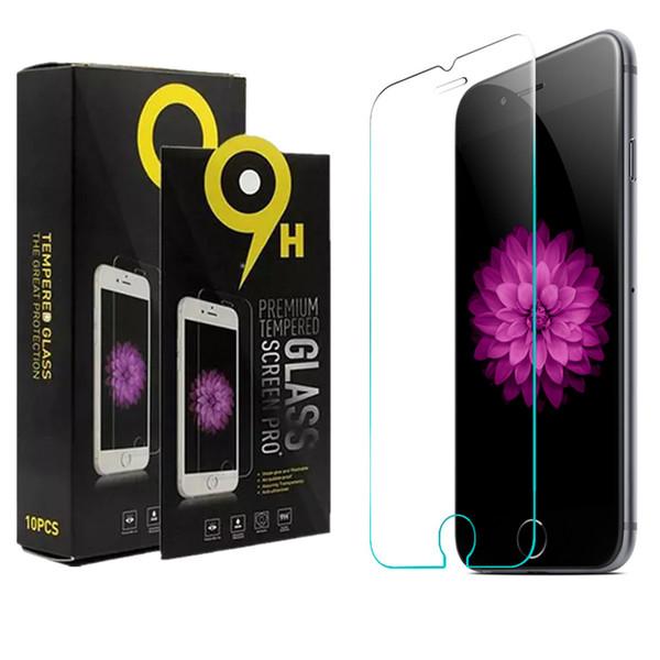 Für ASUS ZE520KL Huawei Mate 10 Pro Xiaomi Redmi Hinweis 5A Mi 8 Lite Pocophone F1 gehärtetes Glas 9H explosionsgeschützte Displayschutzfolie