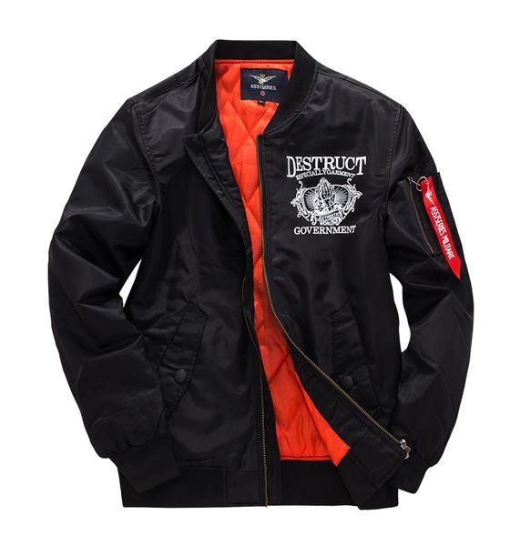 2018 новые повседневные куртки весна-зима пальто мужские толстые куртки для мужской бренд одежды S-8XL J04