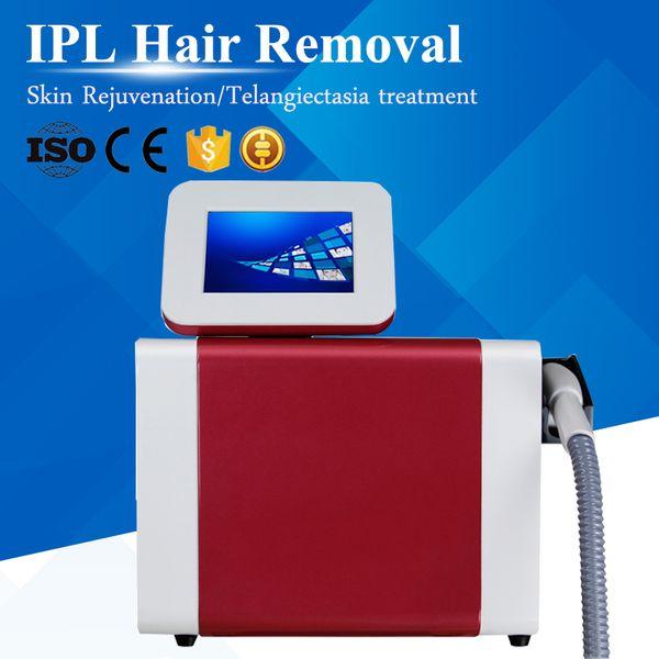 Pain Free IPL Hair Removal Salon Equipment Anti Aging Skin Rejuvenation Intense Pulse Light Skin Care Elight Permanent SHR OPT Machine