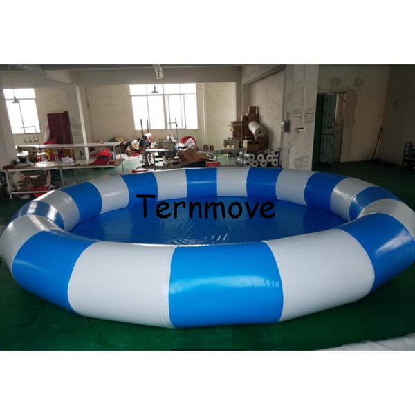 2019 Large Inflatable Pool,Inflatable Swimming Pool Outdoor Use Commercial  PVC Round Intex Swimming Pools,Water Game Pools From Funnyplay, $1266.34 |  ...
