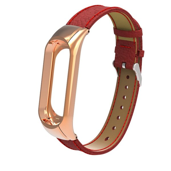 2018 Hot Stainless Steel and TPE Replace Watch Band Leather Starp for Mi band 3 Smart Watch Bracelet Miband 3 Wrist Bands Correa