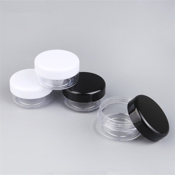 Wholesale 3g 5g High-grade Cosmetics Packaging Box Face Cream Jar Sample Box Makeup Empty Jar Container Bottle Eye Shadow Jar Pot