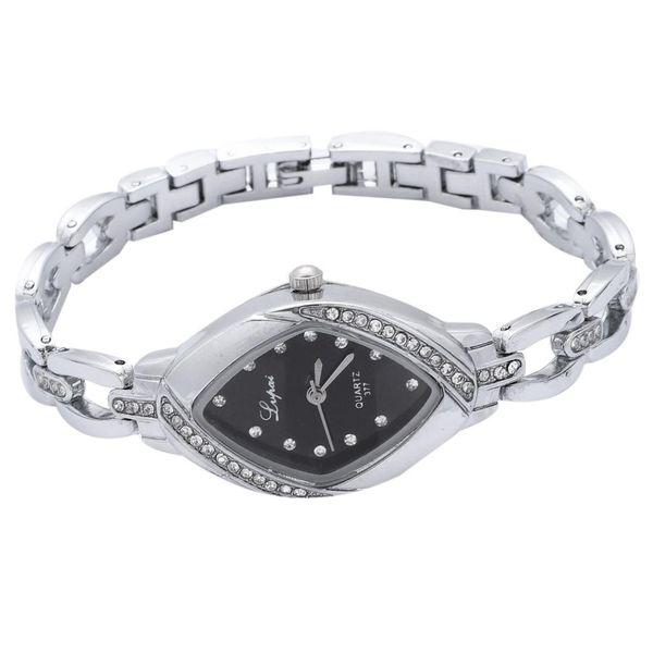 pai Dropshipping Luxury Ladies Bangle Watches for Women Rhombus Cheap Gold Rhinestone Watch Dress Quartz Wrist Clock Watches