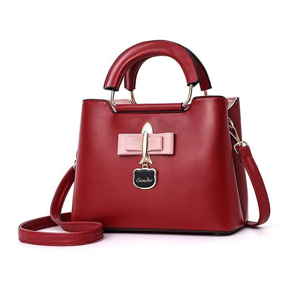 Kadın çanta yeni stil kadın omuz çantası güney Kore versiyonu gelgit çanta ile küçük paket renkli bayan kız çanta