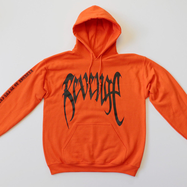2019 Bad Vibes Forever Sweatshirts Men Spring Autumn REVENGE Letters Hand  Five Fingers Printed Pullovers Hooded Hoodies From Malewardrobe, $61 35  