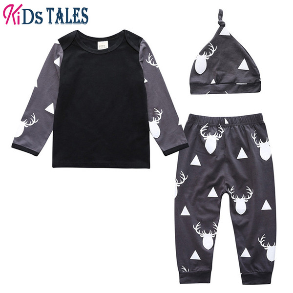 Baby Suit T-shirt cotton infant Autumn home clothes kids tales for boy t shirt long sleeve girl outing clothing children clothes