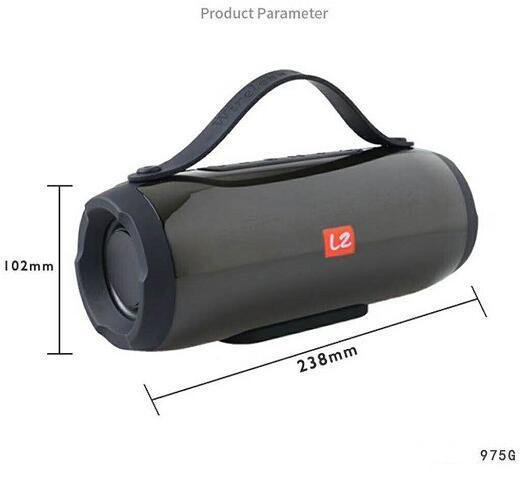 New LZ-E17 Wireless Bluetooth Speaker TF FM USB BT Subwoofer Outdoor Portable Mobile Phone Wireless Bluetooth LZ-E17