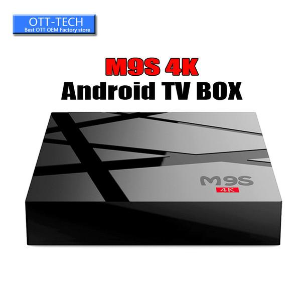 Android 6.0 TV Internet Box M9S 4K 1GB 8GB 4K HDR H.265 HEVC 3D Movies playback 17.3 RK3229 Stream TV Box BETTER MXQ PRO S905W