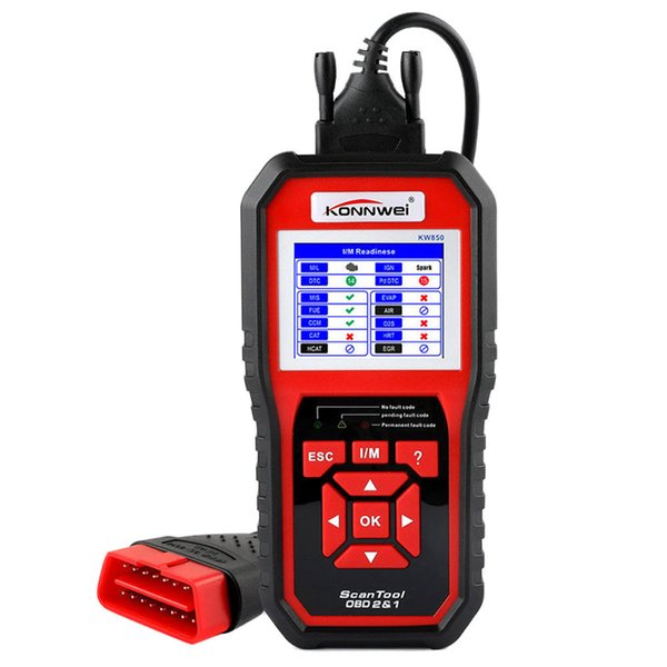 Do Promotion! Universal Auto Car Scanner Diagnostic Tool OBD2 Function with O2 Sensor Test High Quality 2017
