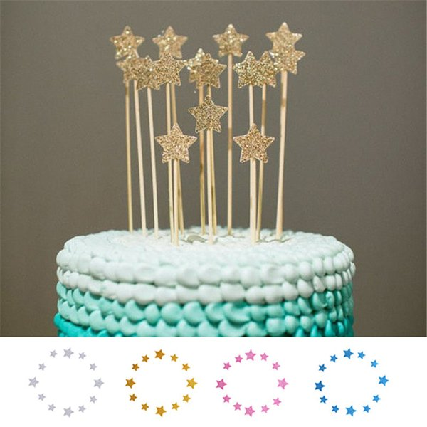 2019 Shinning Star Wedding Birthday Cake Decorating Tools Decoration Wedding Birthday Cake Topper Stand Cheap Inserter From Bf Willbebetter 3 17