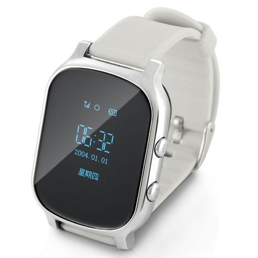 Mit dieser T58 Kindersicherheits GPS Tracker Smart Locating Watch verlieren Sie nie wieder Ihre Kleinen! Es ist ein leichter, tragbarer Ort