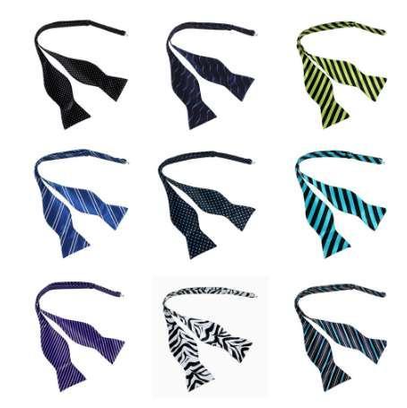Hot Fashion Striped Bowties For Men Women Suite Accessories Wedding Gravatas Slim Party Cravate Corbatas Skinny Red Bow ties JBT
