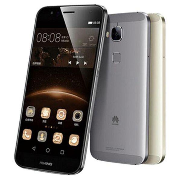 Refurbished Original Huawei G7 Plus 4G LTE 5.5 inch Octa Core 2/3GB RAM 16/32GB ROM 13MP Camera Dual SIM Android Mobile Cellphone DHL 1pcs