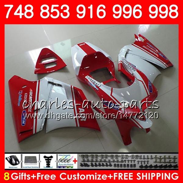 Compre Kit Para Venta Caliente Ducati Rojo 748 853 916 94 95 96 97 ...