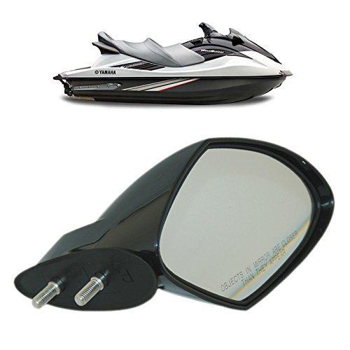Motobiker Yamaha WaveRunner VX Spiegel Rechtsseitig RH Schwarz VX110 Deluxe Sport Cruiser, F1S-U596C-10-00