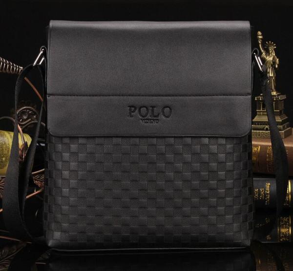 Mode lässig herren tasche polo umhängetasche messenger business leder tasche satchel man satchels bolsos herren reise umhängetaschen