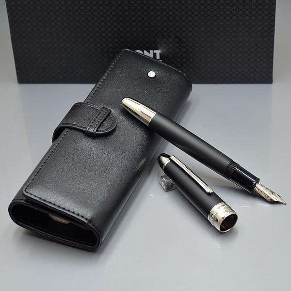 En lüks Meistersteks 149 kalın varil klasik MB Dolma kalem Monte marka yazma kalem seti kalemler ile kalem çantası En iyi Noel hediyesi için adam