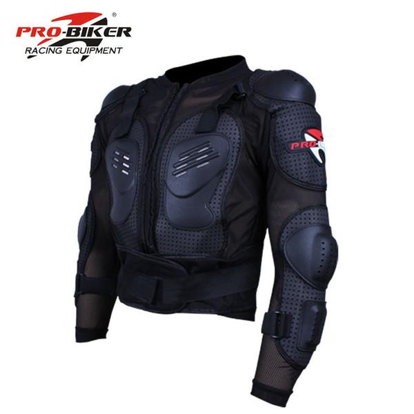 Venda PRO-BIKER Motocicleta Jaqueta De Armadura De Corpo Inteiro de motocross Engrenagem de proteção e de motocross tartaruga moto proteção casacos