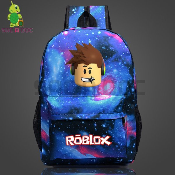 Roblox Galaxy Space Backpack School Bags For Teenage Girls Boys Daily Backpack Laptop Women Men Casual Travel Bags Small Backpack Backpack Brands From - daily roblox com