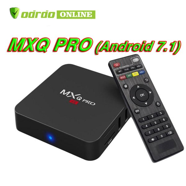 MXQ PRO Android 7.1 Tv Box Rockchip RK3229 Quad Core 1GB 8GB 4K Streaming Media Player Smart Tv Box