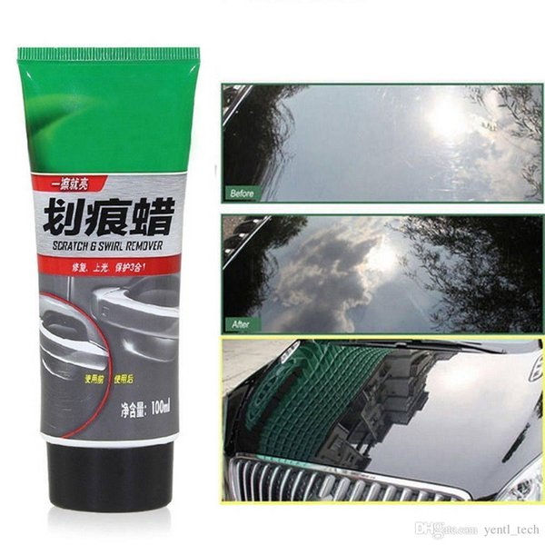 best selling Free shipping yentl 100ml car auto Wax Color Magic Car Paint Polish Care Hides Scratches Repair Tool Wax Color Magic Car Automobiles Paint