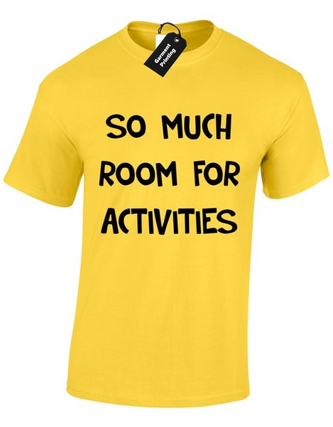 Details zu SO MUCH ROOM FOR ACTIVITIES MENS T SHIRT AMUSING NOVELTY STEP BROTHERS S-XXXL Funny free shipping Unisex Casual gift