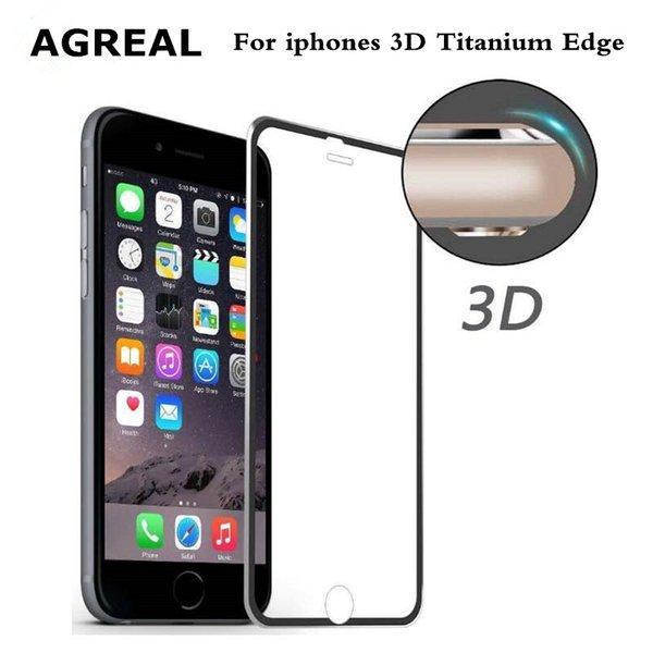 Liga de alumínio de vidro temperado coque case para apple iphone 6 6 s 7 plus fundas acessórios cobertura de cobertura de tela cheia 5 5S se 5c