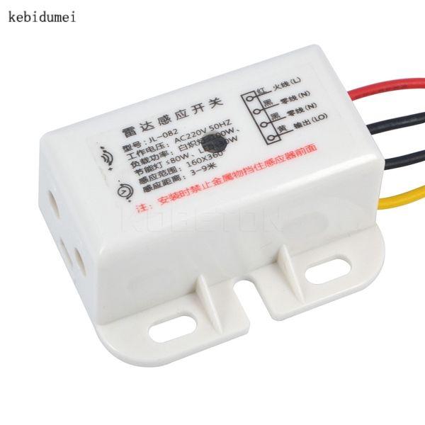 Alta calidad 220v 100W IR Módulo infrarrojo Sensor inteligente Sensor de movimiento Sensor de luz Interruptor