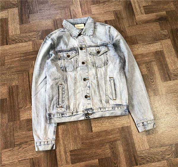 d25d7ce0f1b 18AW New Luxury brand Cowboy Jacket Coat Fashion Teddy Bear Casual Wear  Clothing Windbreaker Coats Outwaar Sweatshirt