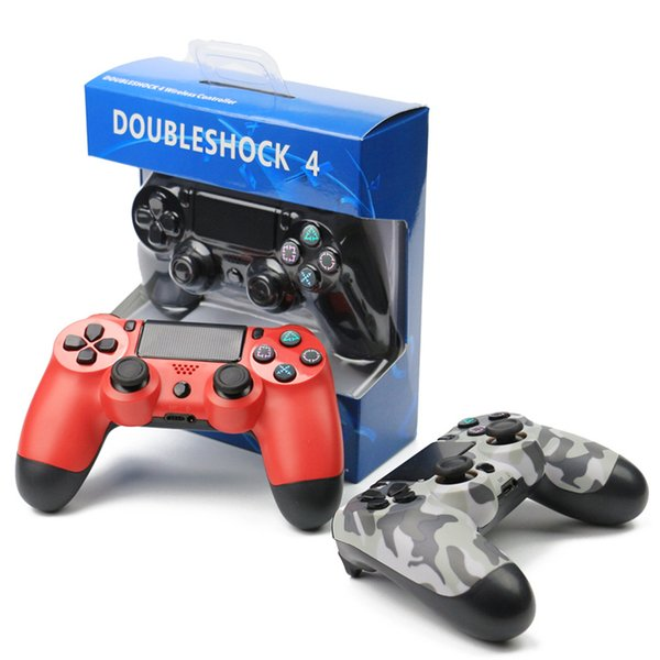 DoubleShock PS4 Game Controllers Joysticks Wire for PS 4 Game Accessories playstation USB Wired Controller for sony Play Station