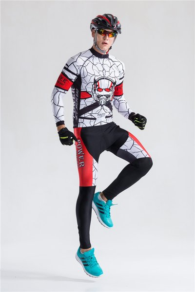 2019 spring Autumn Long Sleeve Team men's bicycle jersey Cycling Jerseys bike Clothing quick dry Power Ciclismo hombre A0402