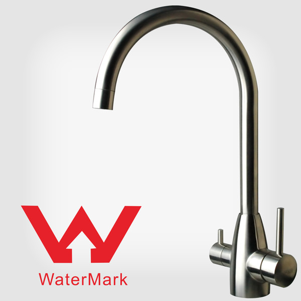 Lead-free 304 Stainless Steel Kitchen Filter Faucet Drinking Filtered Water Hot/Cold Water 3 Way Filter Tap Kitchen Mixer