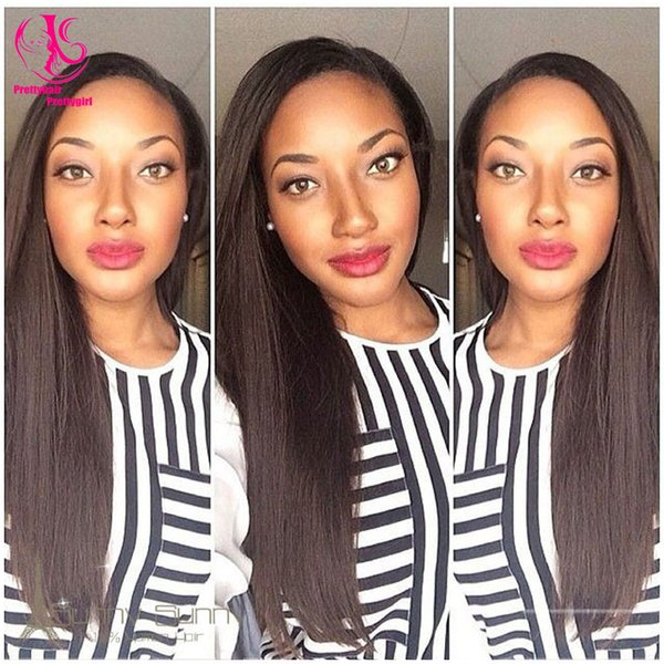 Hot sale! free shipping Fashional straight wig black wig synthetic lace front wig heat resistant Synthetic Hair for black woman