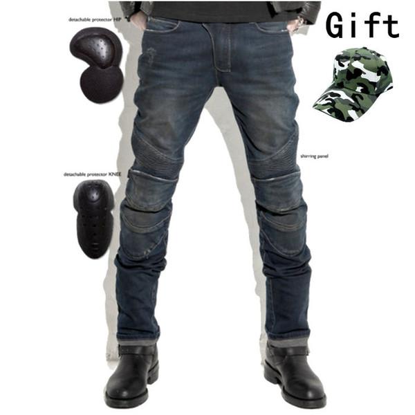 miglior servizio 9e184 c61da Acquista Uglybros Featherbed Jeans Black Moto Da Uomo Jeans Protezione Moto  Pantaloni Da Corsa Staccabili Pantaloni Da Corsa A $150.76 Dal Ayintian |  ...