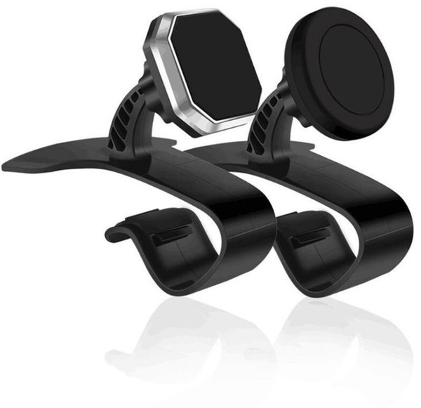 Anti-skid Car Phone Holder Dashboard Mount Clip Clamp Adjustable Phone Stand Bracket GPS for iPhone Samsung Xiaomi Huawei