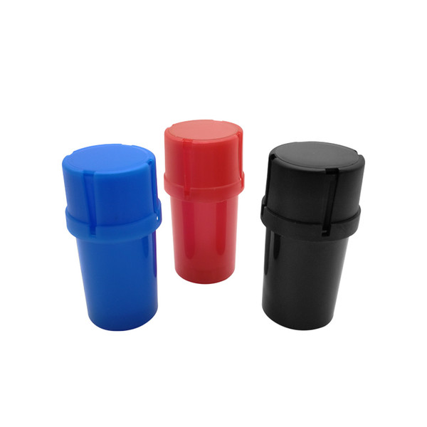 Dry herb grinder 3 layers toothpick holder grinder smoking accessories hand mill muller crushers acrylic plastic grinders