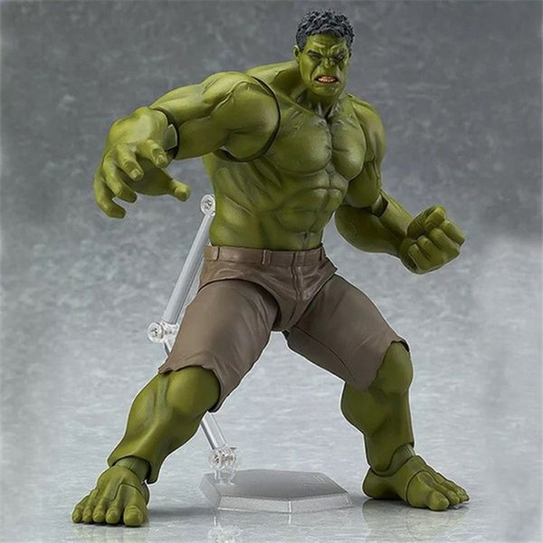 Suzannetoyland FUNKO POP Q Version 271# Hulk PVC Anime Action Figure 16cm Gift Collection