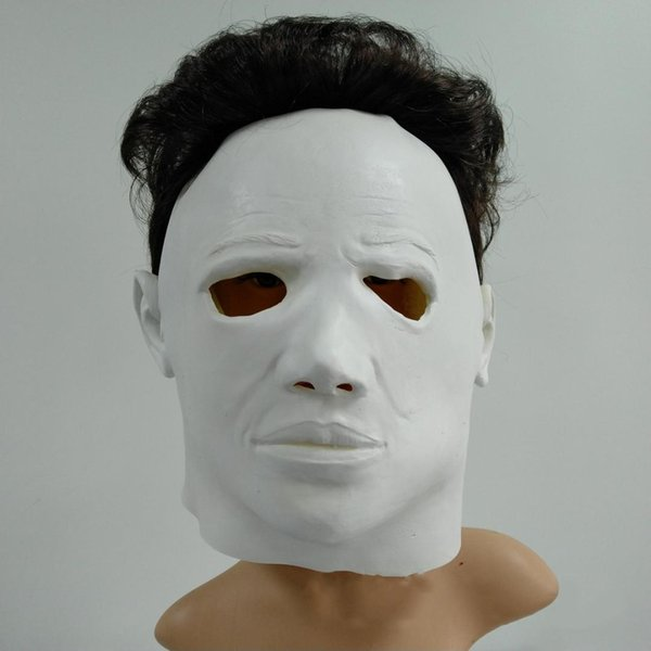 Michael Myers Mask Halloween 1.2018 100 Latex Michael Myers Mask Horror Movie Halloween Cosplay Scary Movie Adult Party Masquerade Cosplay Mask Toy Cheap Mask For Masquerade Ball
