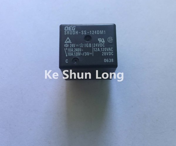 Ücretsiz kargo lot (5 adet / grup) TE OEG SRUDH-SS-124DM1 4 PINS 12A 24VDC Güç Rölesi orijinal Yeni