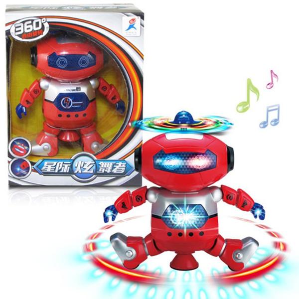 Electronic Walking Dancing Smart Space Robot Astronaut Fun Dancing Robert With Music Lightening Toys Gift Dropshipping