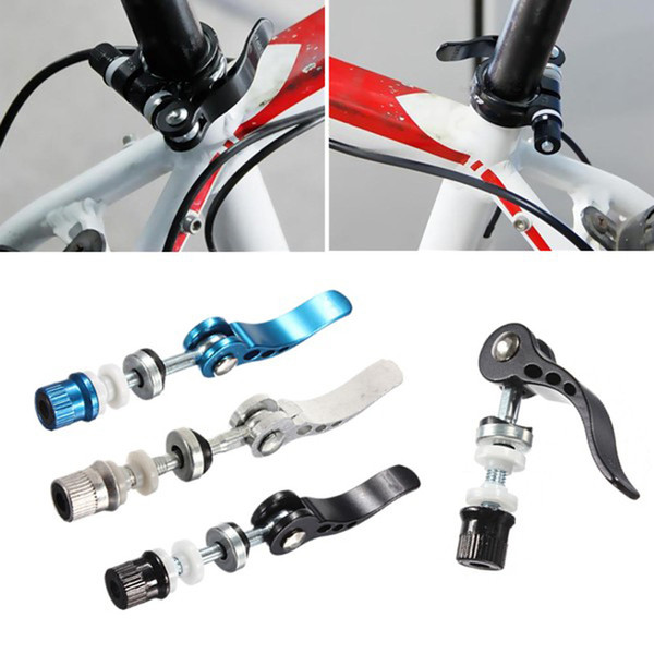 Aluminum Alloy MTB Road Bicycle Quick Release Seat Post Clamp Clasp Bike Tools