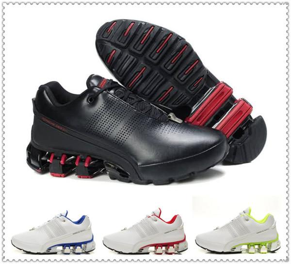 176a5121eef7 2018 uomini vendita calda scarpe casual design Porsche maglia scarpe da  ginnastica per gli uomini blu