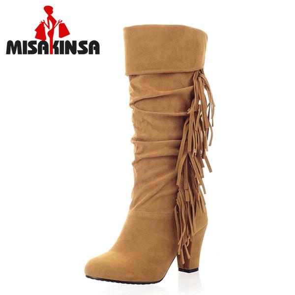 Compre Tacón Misakinsa Tamaño 32 43 Botas De Tacón Compre Alto De Mujer Botas De 638e72