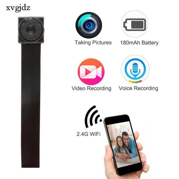 Venta al por mayor-WIFI 720P HD Mini cámara DVR Módulo DIY Cámara IP Cámara de detección de movimiento Cámara P2P HD Grabadora de video digital Videocámara de seguridad